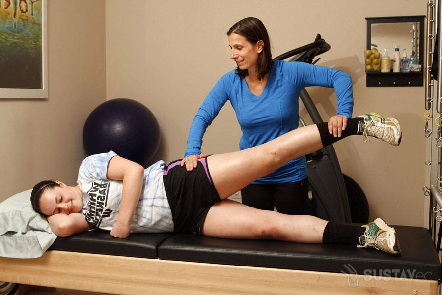 Лечение коленных суставов гимнастическими упражнениями: ТОП 5 методик 66-4